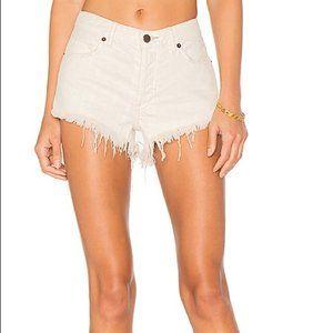 💸💸NWOT Free People Distressed Cutoff Shorts